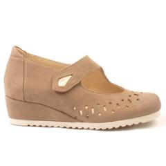 Zapato Cómodo Blanche Topo 16 08