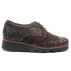 Zapato Cómodo L Nogal cor 14 02