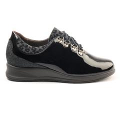 Zapato Cómodo D Angora Charol 16 02