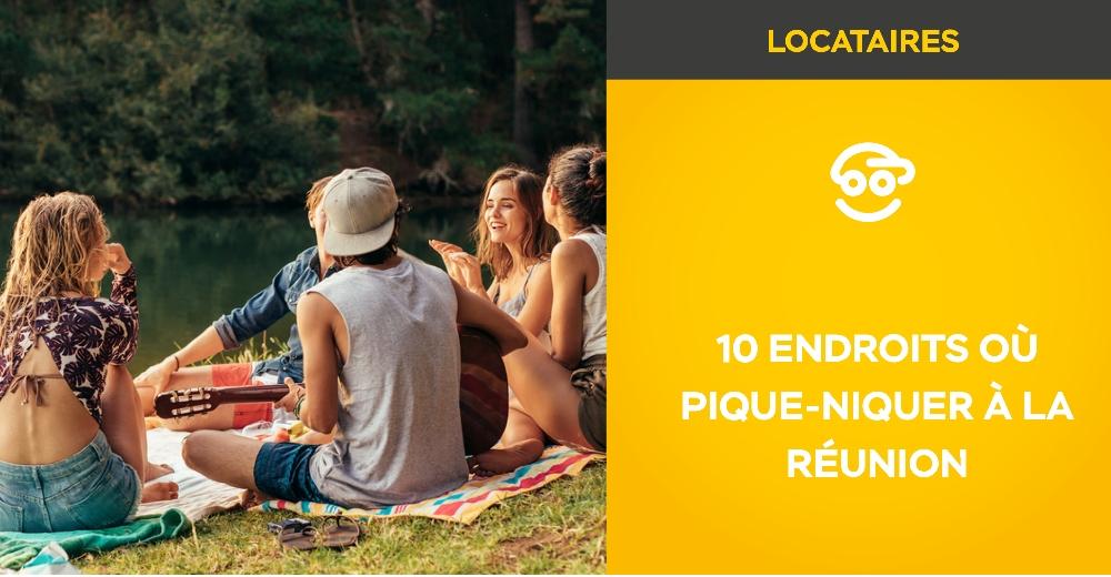 10 endroits où pique-niquer à La Réunion