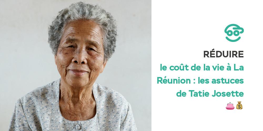 Les astuces de Tatie Josette pour réduire le coût de la vie à La Réunion