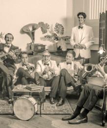 Benoit Viellefon and his orchestra