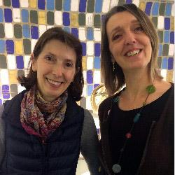 Eliette et Françoise Paris