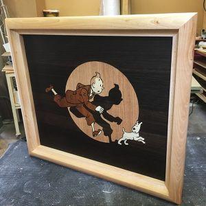 Marqueterie Tintin François