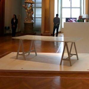 Table en marbre Journées
