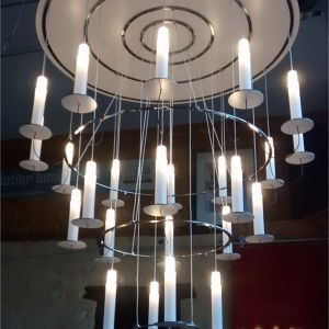 "Grand Lustre "" Chandelier"" Alain"
