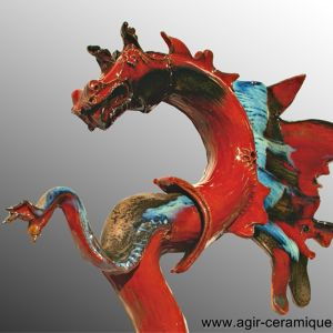 Dragon-Flamme Ariane