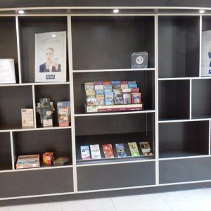 Bibliothèque de salon Frédéric