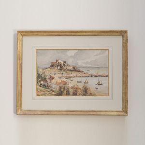 aquarelle Île de Jersey Anne