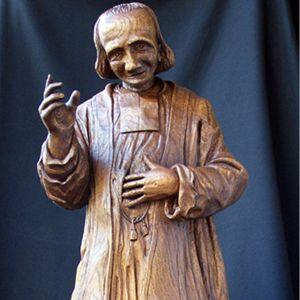 curé d'Ars (haut. 90 cm) Jean-Joseph