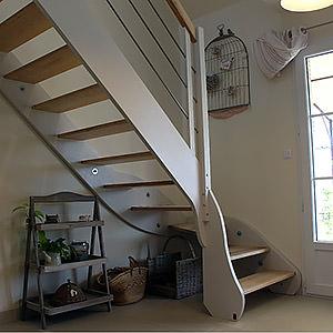 escalier quart tournant Jean-françois