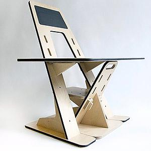 AZ Desk, le bureau évolutif 4 en 1 Guillaume