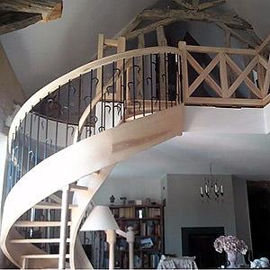 Escalier en colimaçon joel