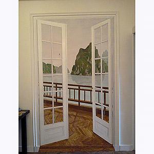 faux carreaux de ciment par anne charlotte d. Black Bedroom Furniture Sets. Home Design Ideas