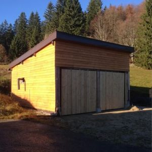 Garage en bois Guillaume