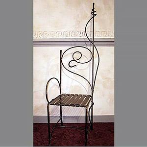 Chaise en métal Clément