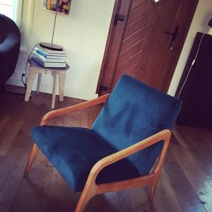 Fauteuils contemporains Caroline