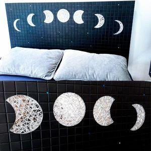 Tête de lit cycles lunaines Pierre