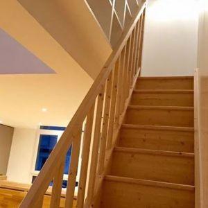 Escalier en bois Raheel