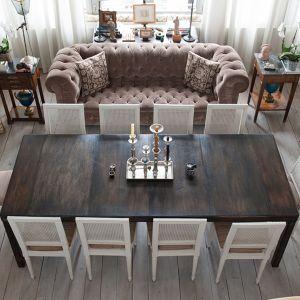 Table-console avec 4 allonges Bruno