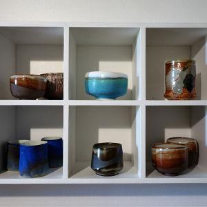 Etagère à poterie Nicolas