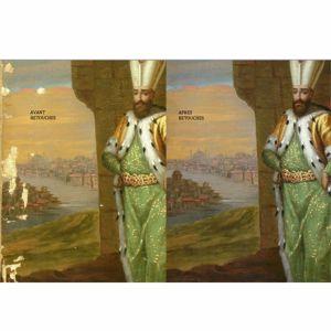restauration d'une peinture de chevalet: tableau orientaliste du XIXème Hélène