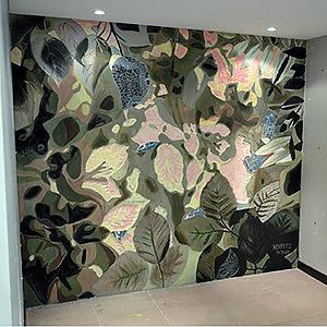 Fresque végétale Mathilde