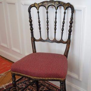Chaise Napoléon III Valérie