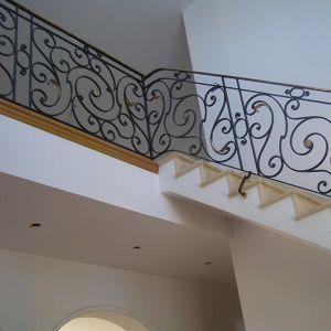 Rampe d'escalier style louis XV Emmanuel