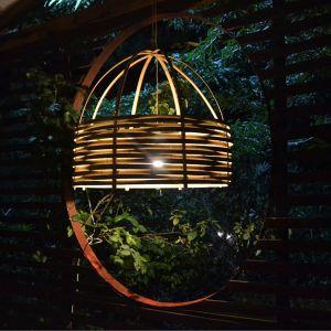 Abat-jour en lamelles de bambou Bertrand