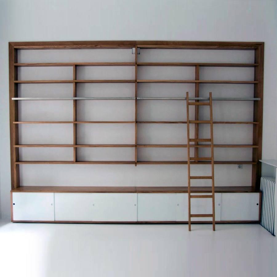 Echelle Bibliotheque Sur Rail bibliothèque avec échelle, un projet de antoine mazurier