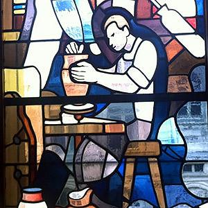 Restauration de vitrail Atelier