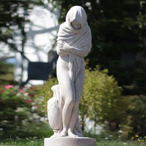 """Reproduction de """"L'hiver"""" de Jean-Baptiste Houdon Ghislain"""