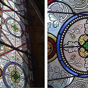 Restauration de vitraux Aurore