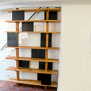 Bibliothèque escalier Antoine