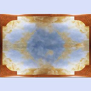 Fresque ciel nathalie