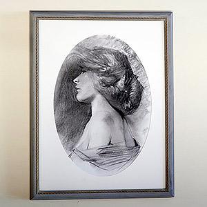 Portrait romantique Anne