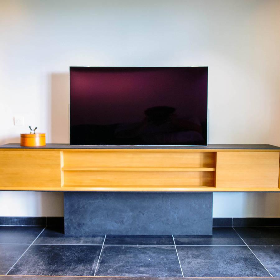 Meuble Tv El Gance Par Vincent Matthias Hugo C # Meuble Tv Retractable