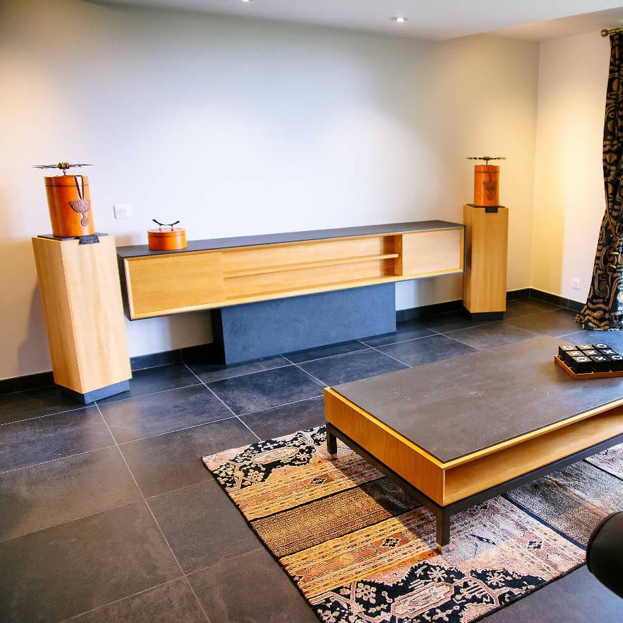 meuble tv el gance par vincent matthias hugo c. Black Bedroom Furniture Sets. Home Design Ideas