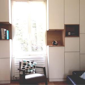 Projet : Mobilier intégré sur-mesure pour un salon Alexandre