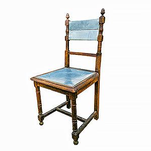 Chaise à plaçet en zinc Artyzinc