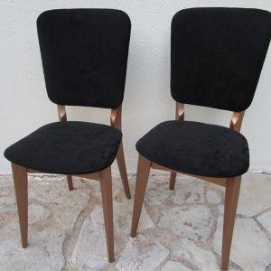 Paire de chaises vintage Martine