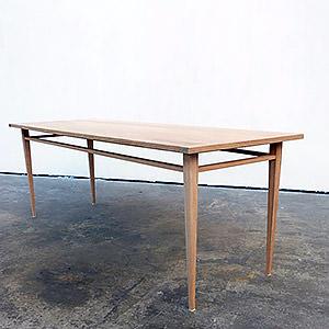 Table Shaker en chêne massif Stéphane