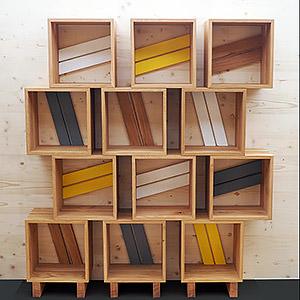 Bibliothèque modulable Patrick