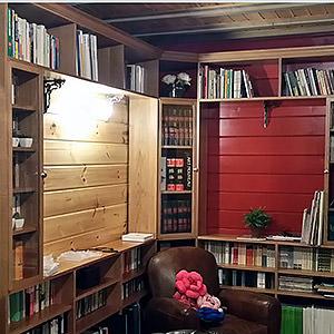 Bibliothéque olivier