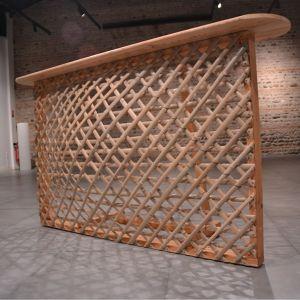 Bar - Comptoir en lamelles de bambou Bertrand