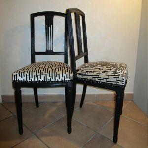 Paire de chaises style LOUIS XVI Martine