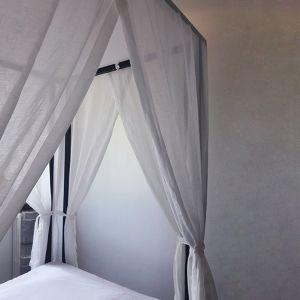 Structure baldaquin droite pour un lit existant Sophie et Jean