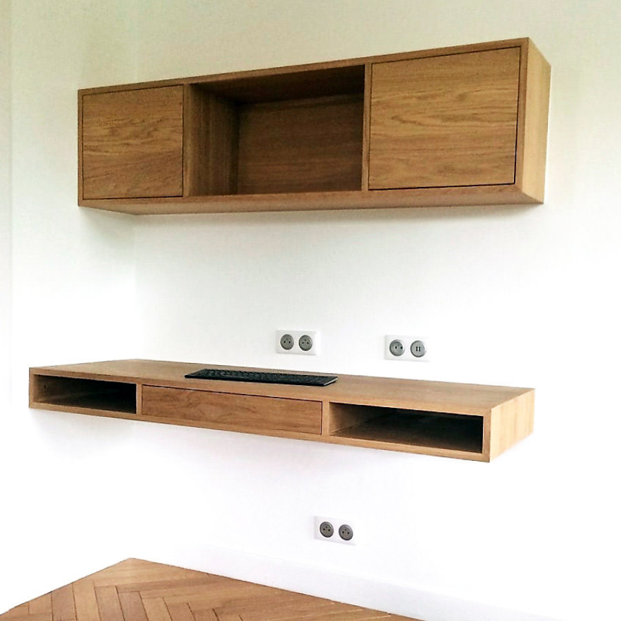 bureau suspendu best pour booster votre et mettre toutes les chances de votre ct pour. Black Bedroom Furniture Sets. Home Design Ideas