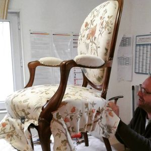 Fauteuil Louis-Philippe Pascal